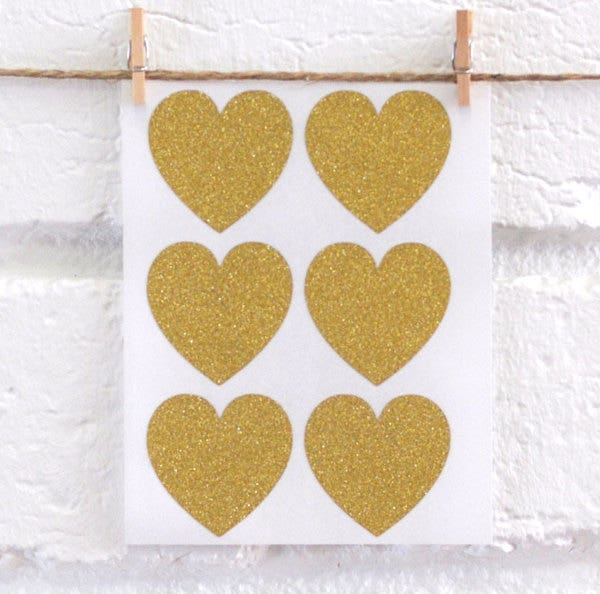 glitter-heart-stickers
