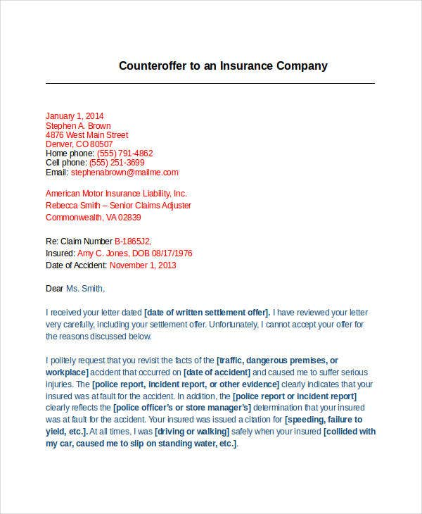counter company offer letter template