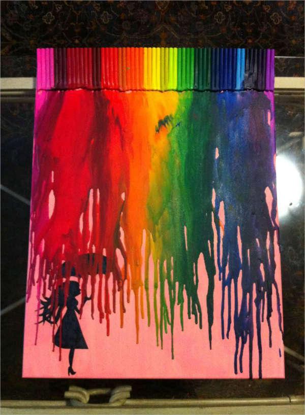 diy-glitter-painting