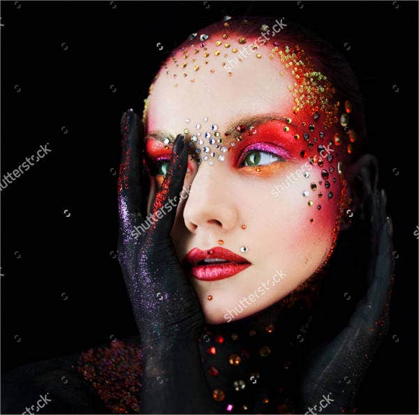 artistic-glitter-painting