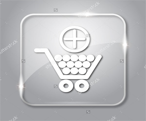 transparent add to cart button