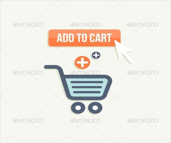 e commerce add to cart button