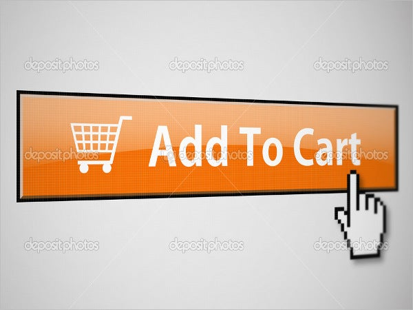 rectangular shaped add to cart button