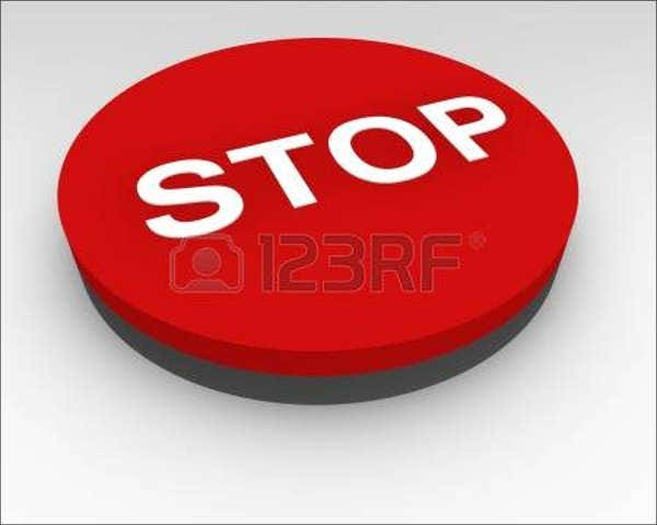 stop push button