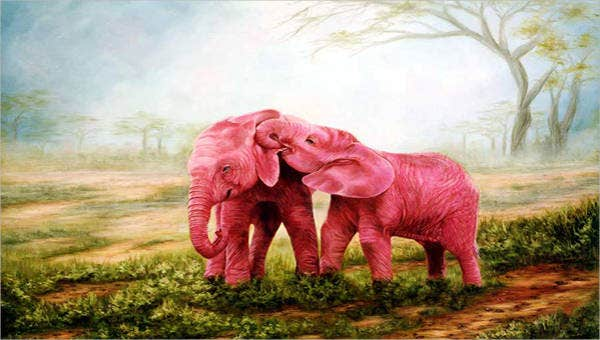 10amazingelephantpaintings
