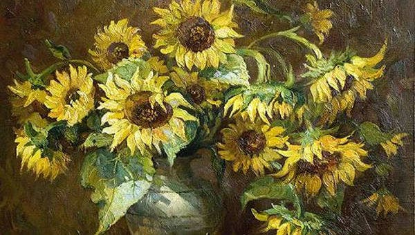 beautifulsunflowerpaintingideas