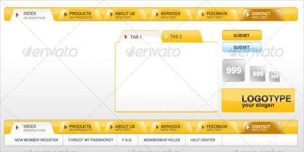 website-navigation-button-photoshop