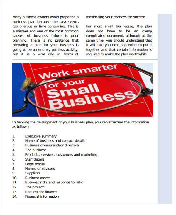it development business plan template