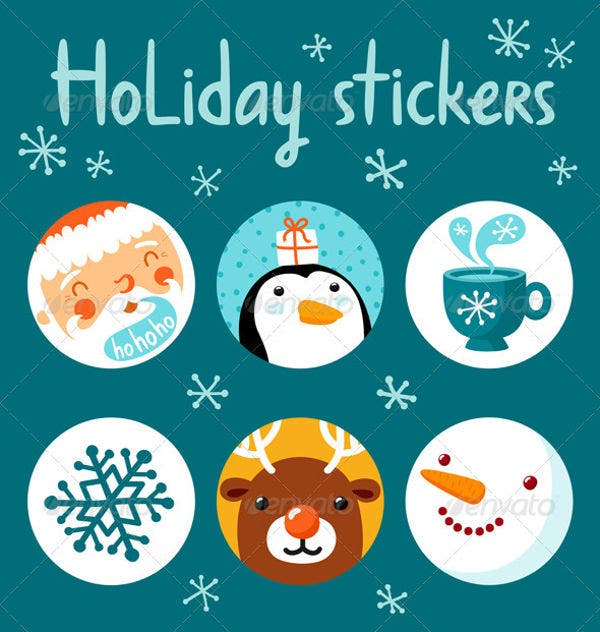 free-holiday-stickers