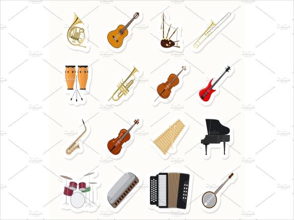 music-keyboard-stickers