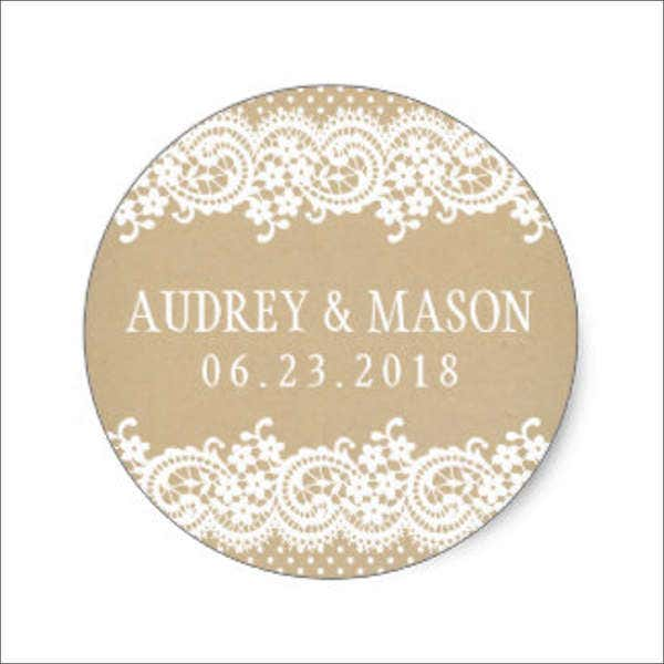 lace-wedding-stickers