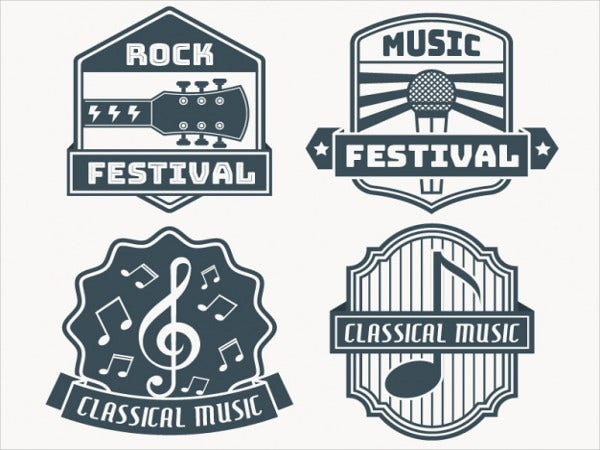 vintage-music-stickers