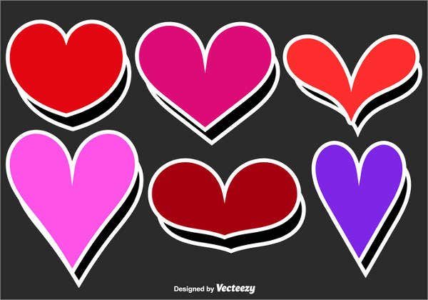 vintage-heart-stickers