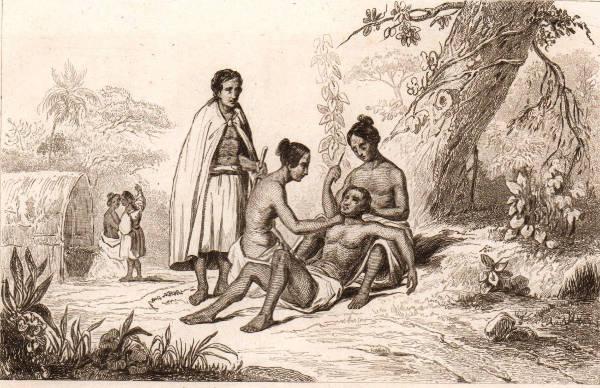 Vintage Polynesian Tattoo
