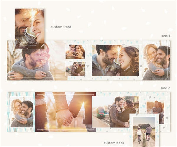 mini photo album template1