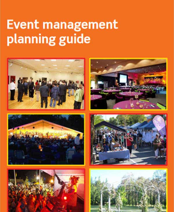 event management production schedule template