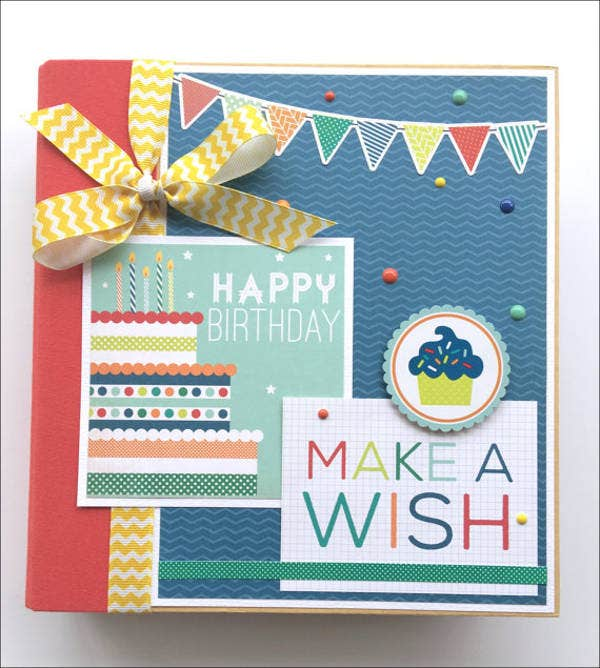 birthday-mini-album-template