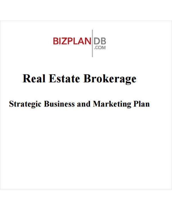 real estate agent sales plan template