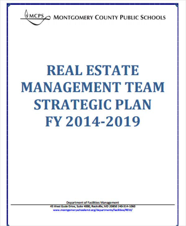 Real Estate Sales Plan Templates - 6+ Free Word, Pdf Format