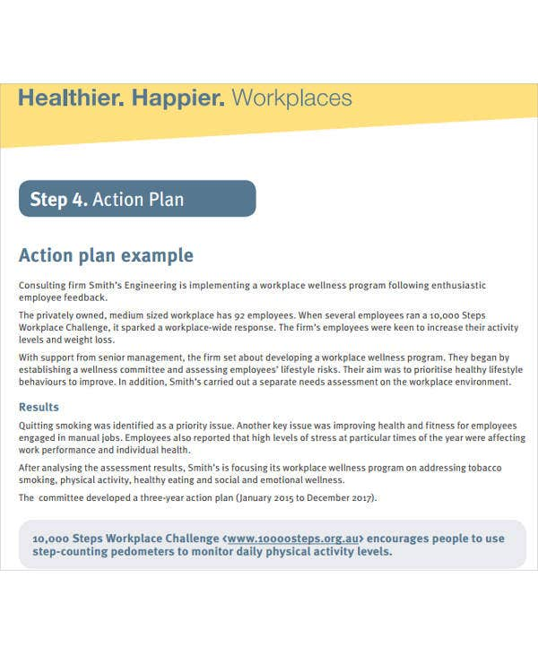 Training Action Plan Templates - 6+ Free Word, Pdf Format Download