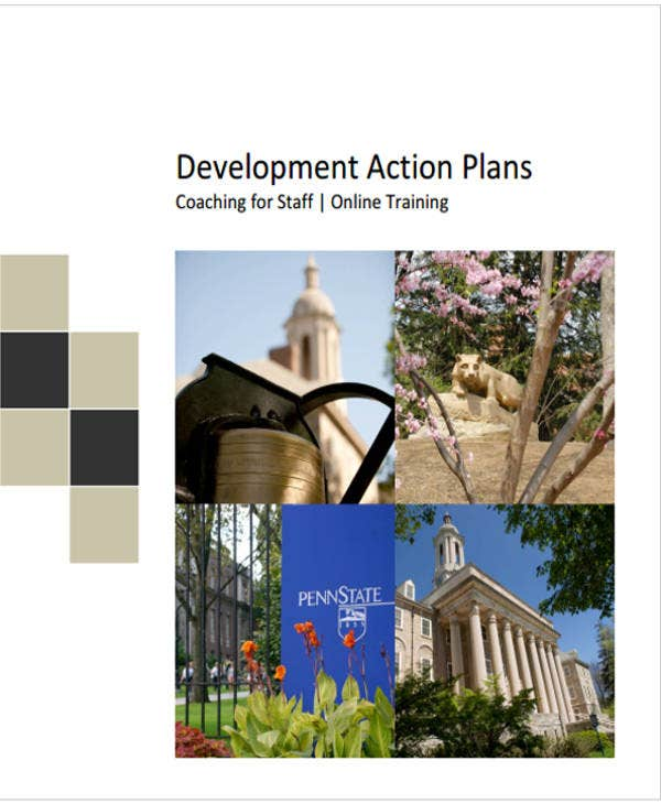 training and development action plan template