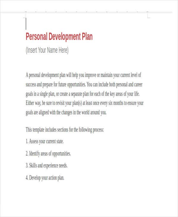 Personal Business Plan Templates Free Word PDF Format - How to create a business plan template