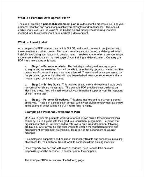 Personal business plan templates 6 free word pdf for Personal training program template