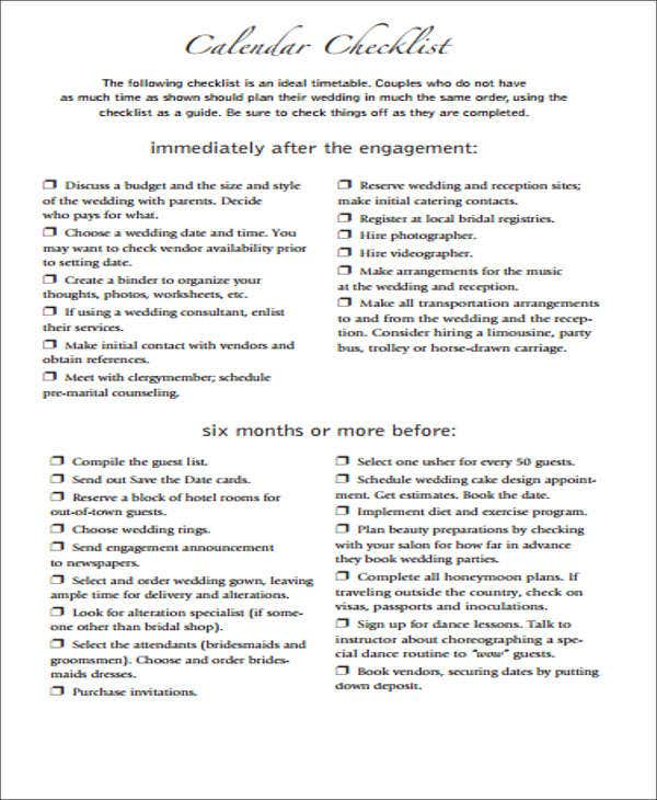 graphic about Bridal Shower Checklist Printable titled Bridal Shower in the direction of Do Record Templates - Free of charge Phrase, PDF Structure
