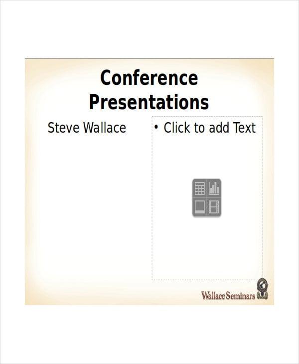 conference presentation slides template