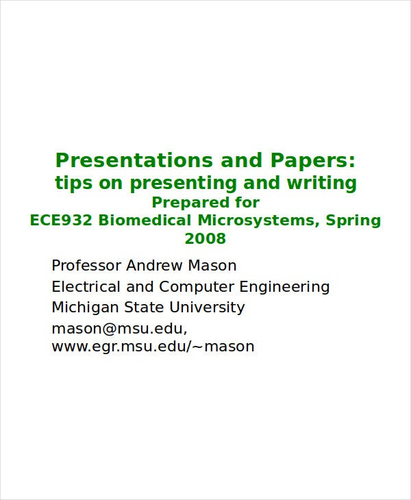 conference paper presentation template