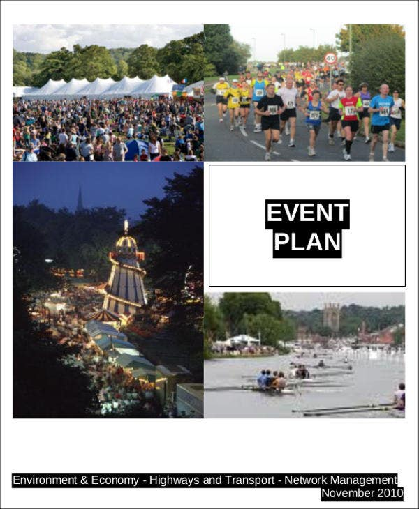 event planning action plan template