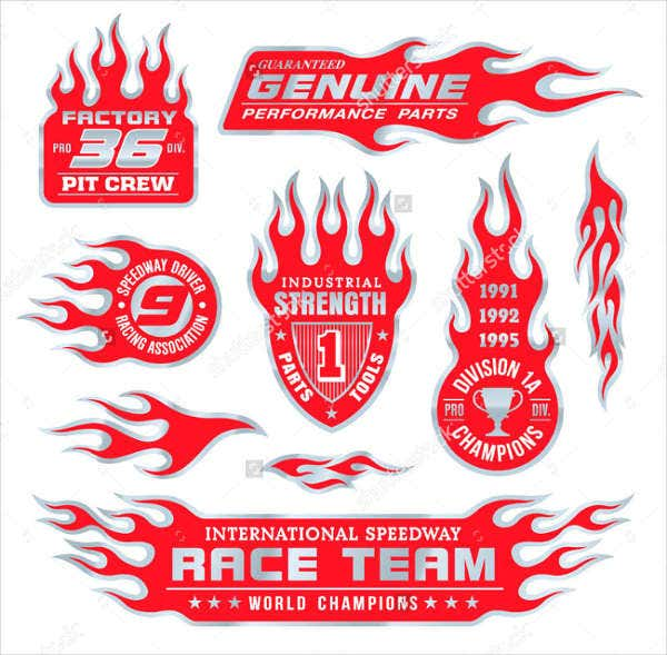 car-racing-stickers