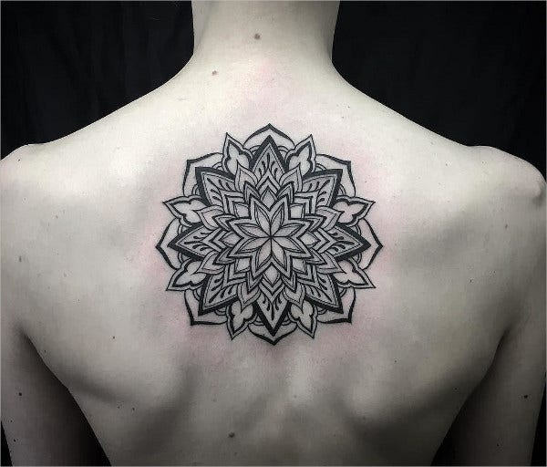 Geometric Mandala Tattoo