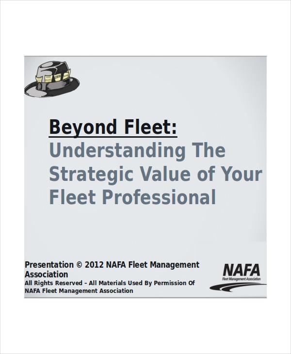 professional company presentation template