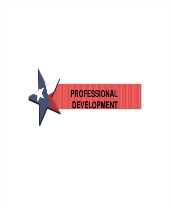 professional development presentation template