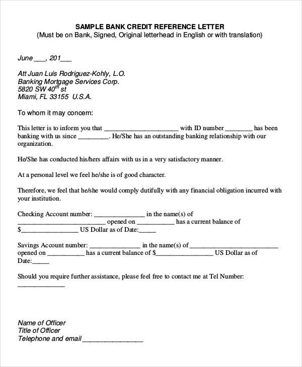 Accountant Reference Letter Templates 9 Free Word Pdf Documents