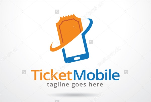 travel-ticket-logo-template