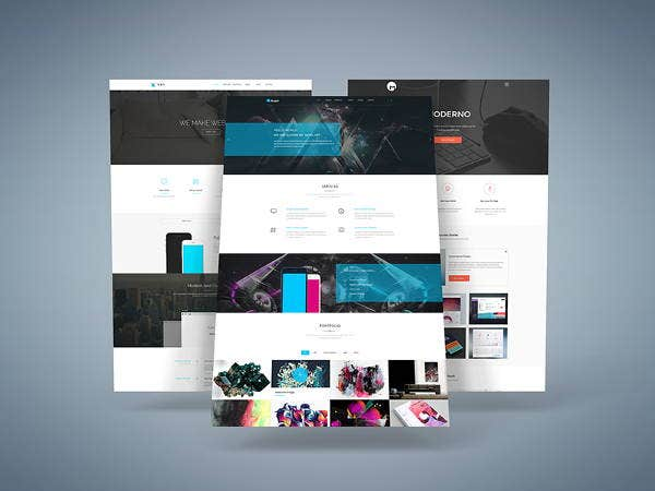 website presentation mockup1