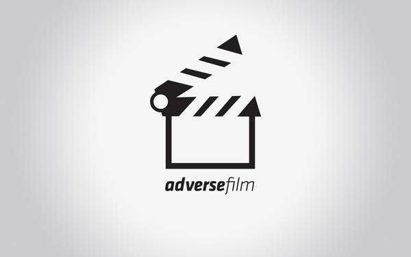 adverse film logo template