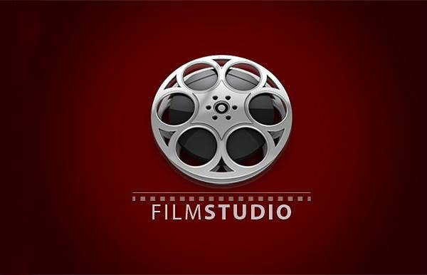 3d film studio logo