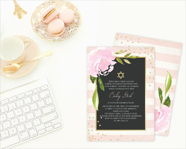 11 Ceremony Invitation Templates Free Editable PSD AI Vector – Naming Ceremony Invitation Template