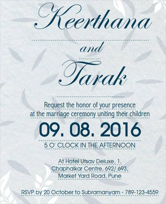 free-ceremony-invitation-template