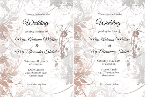 wedding-ceremony-invitation-template