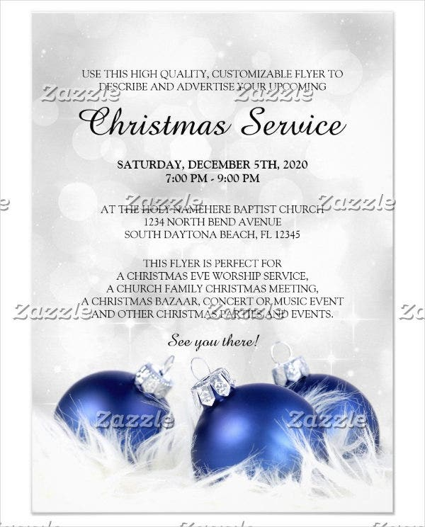 8 church invitation templates free sample example design church service invitation template spiritdancerdesigns Images