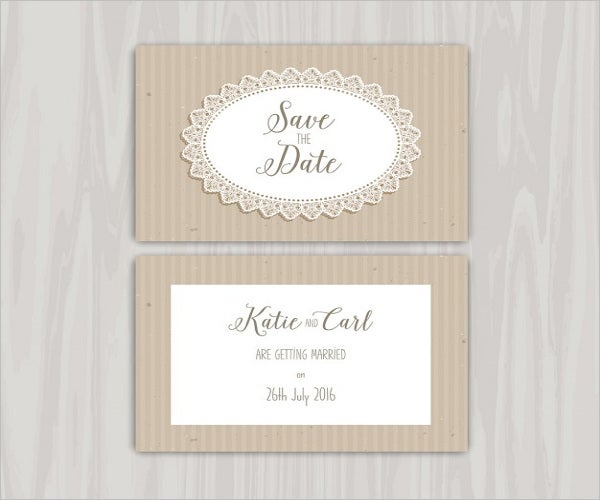 free rustic invitation template