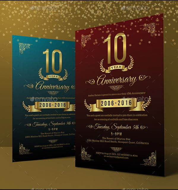 company-anniversary-party-invitation