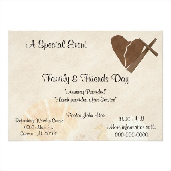 church-event-invitation-template