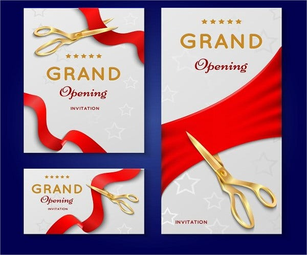 grand opening invitation template koni polycode co