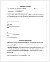 third-party-amendment-contract-template