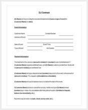 printable-dj-contract-template